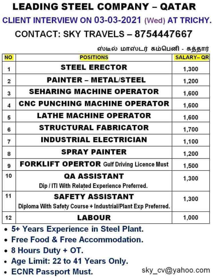 steel-plant-jobs