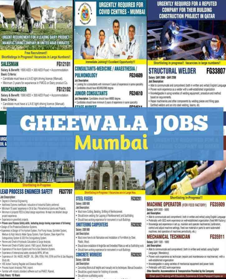 gheewala-jobs-mumbai
