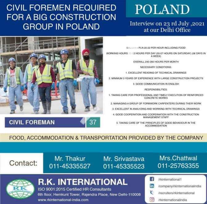 jobs in poland