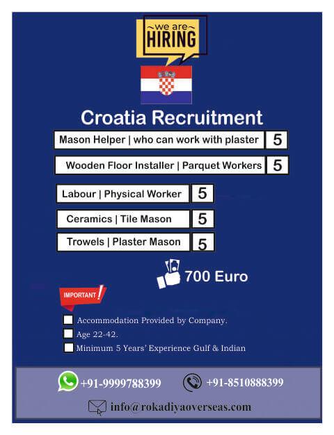jobs in coratia