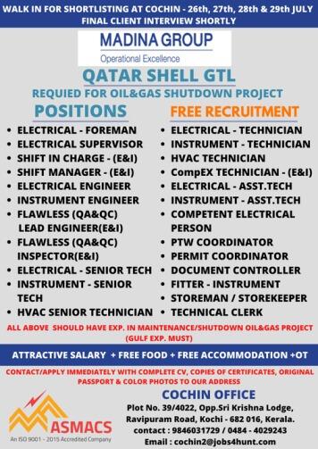 gulf jobs qatar