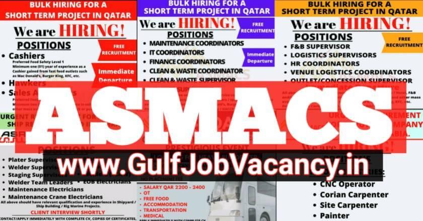 ASMACS gulf job