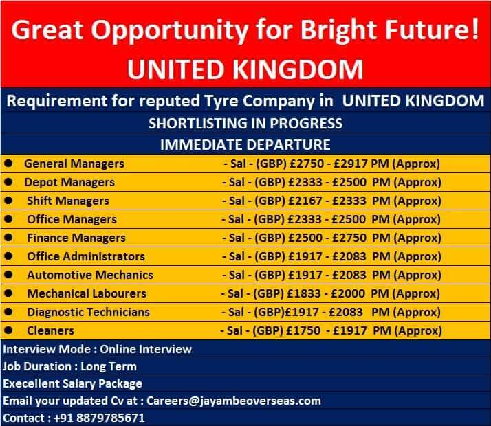 jobs in uk