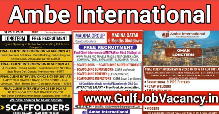 gulf jobs for indians