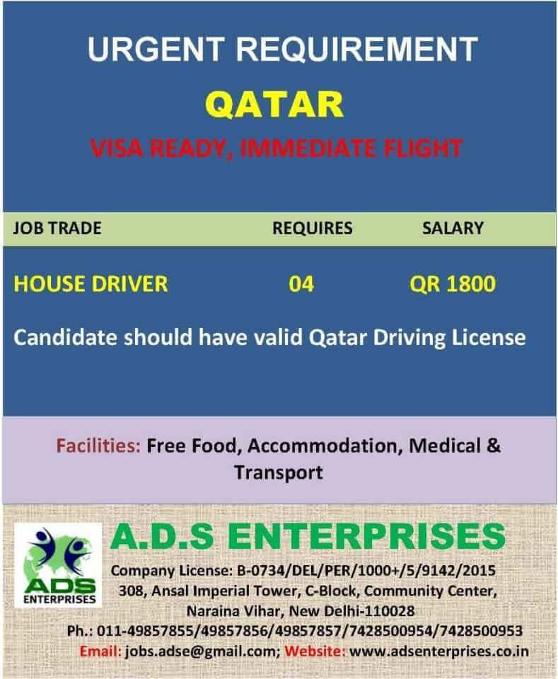 qatar vacancies