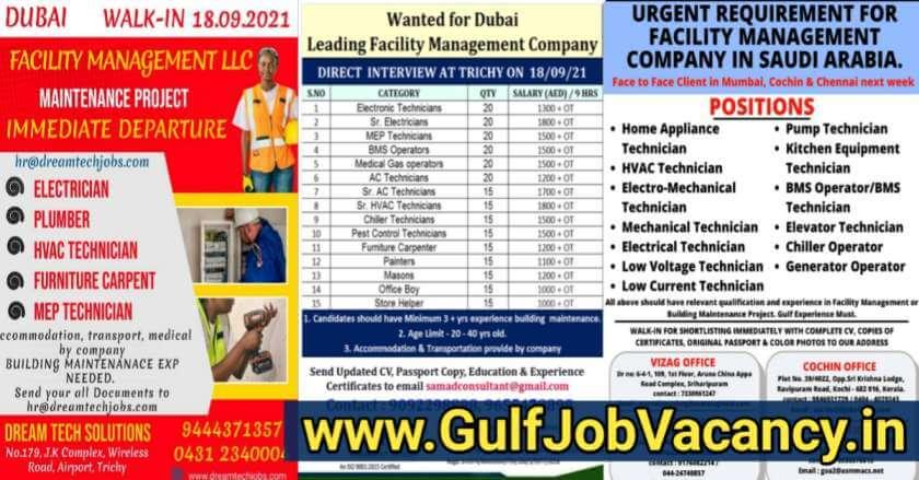 Facility Management Jobs