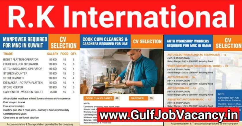 Overseas Jobs