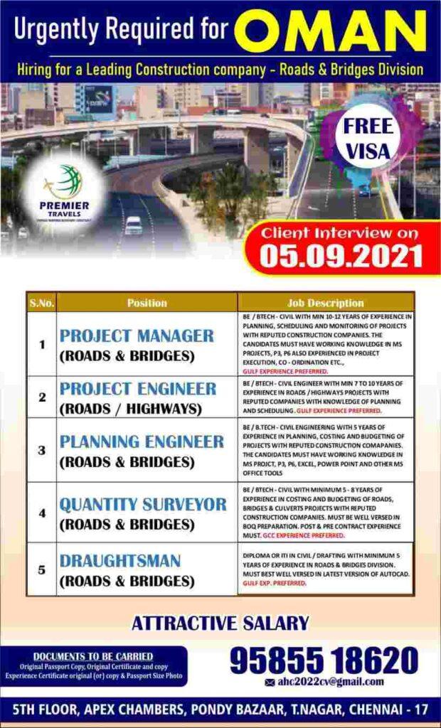 oman vacancies
