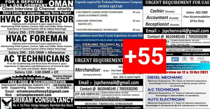 Assignment Abroad Jobs