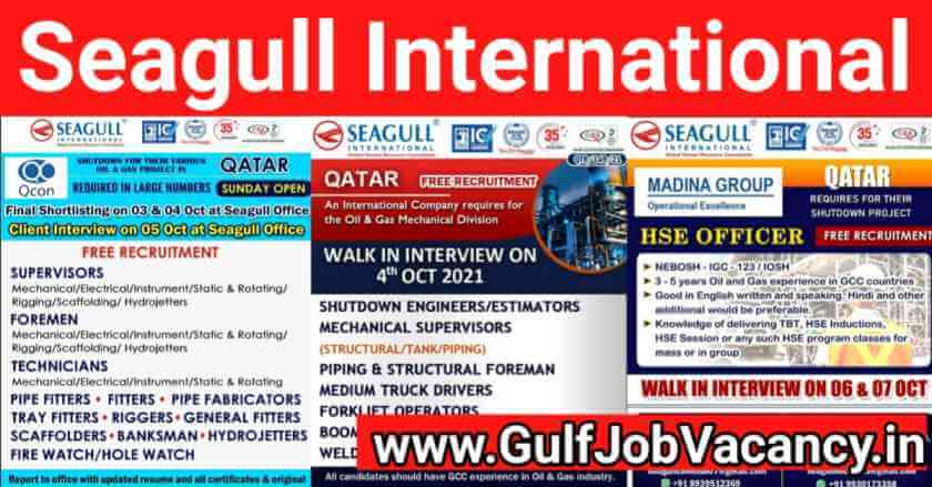 Gulf Jobs Mumbai Interviews