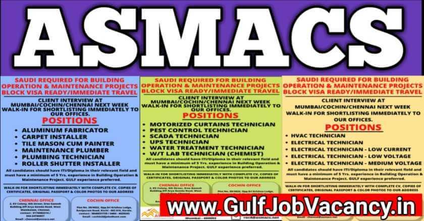 Gulf Jobs Mumbai