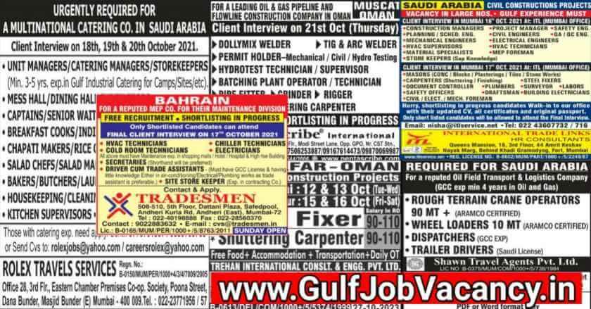 Mumbai Interview For Gulf